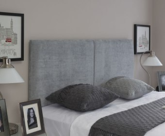 Jennifer Fabric Upholstered Headboard