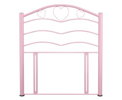 Yasmin Pink Childrens Metal Headboard