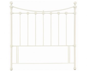 Alice Off-White Metal Headboard