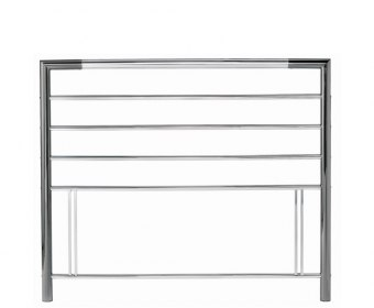 Urban Nickel Metal Headboard