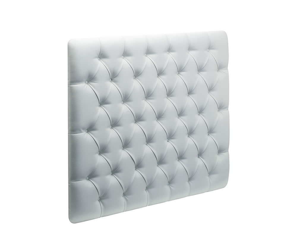 Jot Faux Leather and Suede Single Headboard