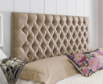 Tiffany Faux Suede Headboard