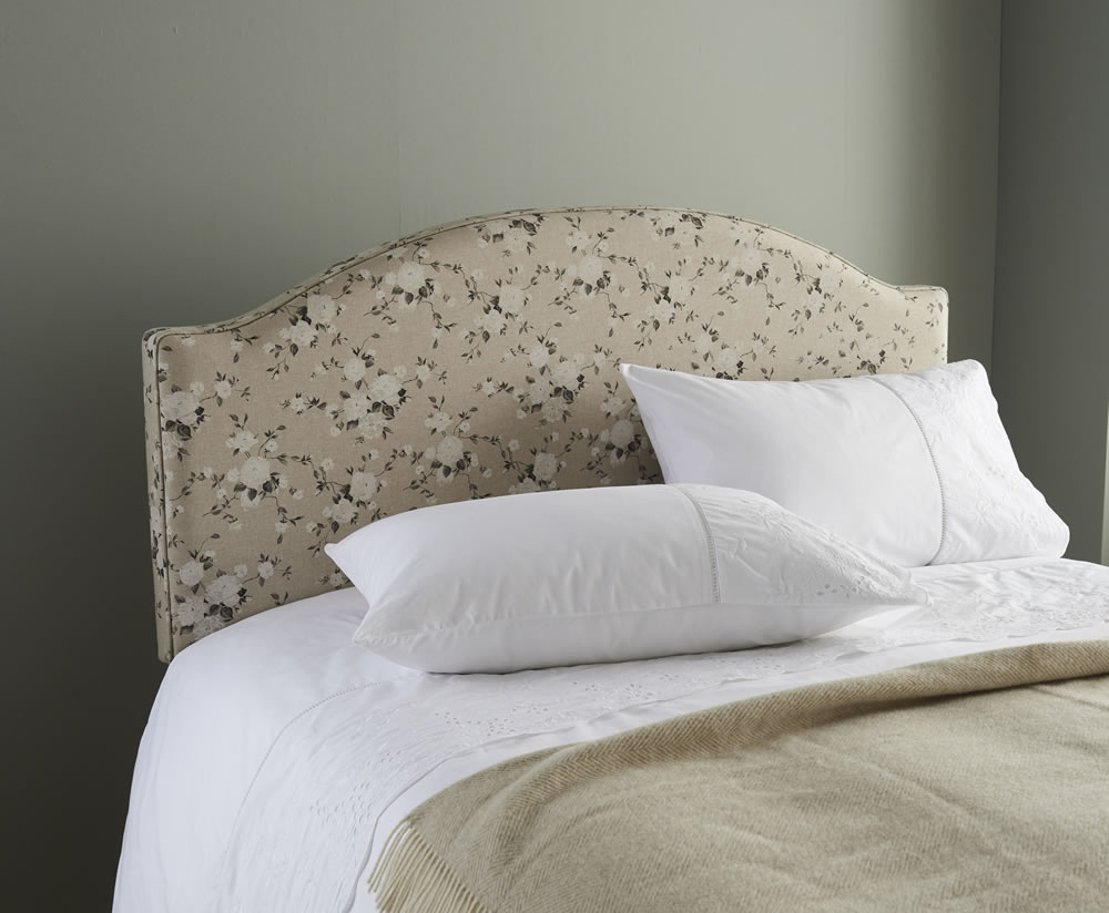 Finchley Fabric Headboard single size - 3ft pam sepia