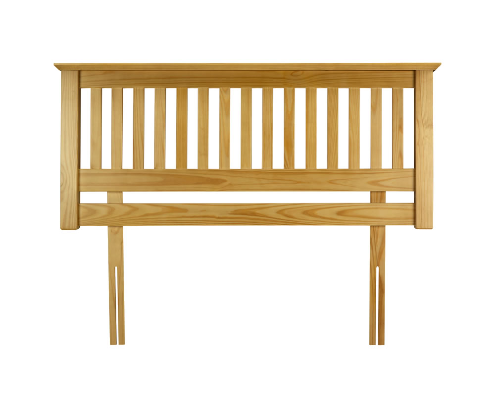 Barcelona slatted pine headboard just headboards for Sofa cama 150 ancho