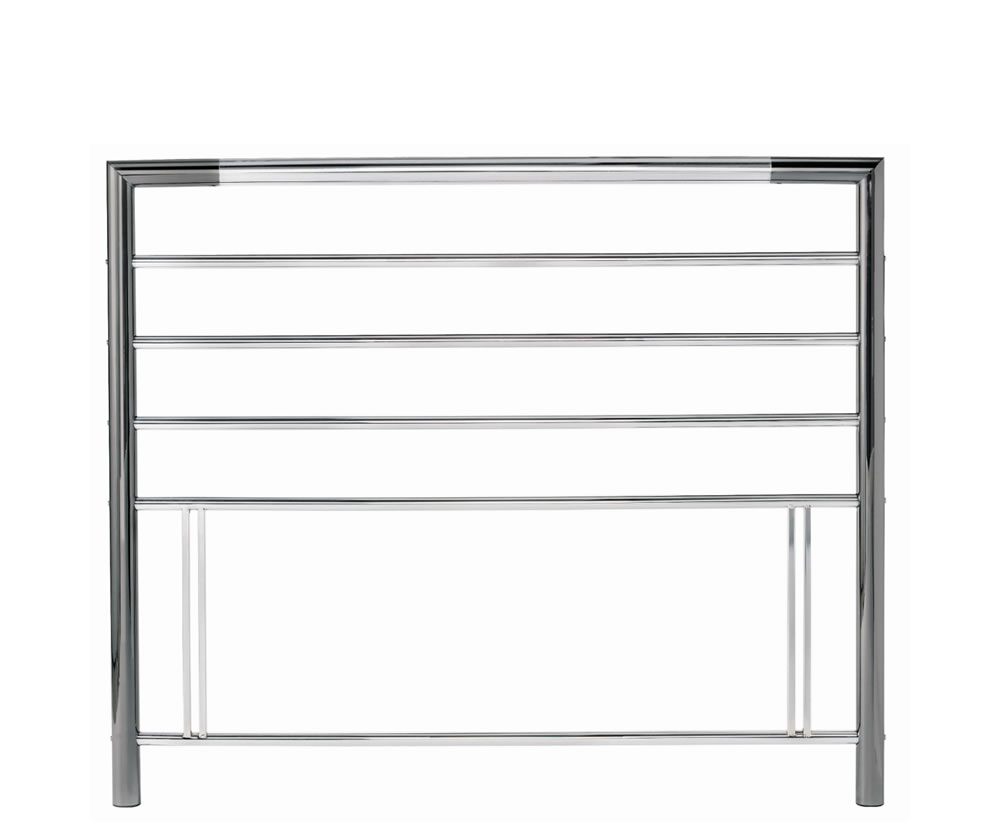 justheadboards.co.uk Urban 4ft Nickel Metal Headboard *Special Offer* small double size - 4ft