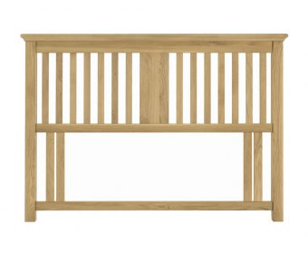 Hampstead Oak Slatted Headboard