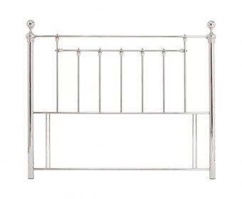 Benjamin Nickel Metal Headboard