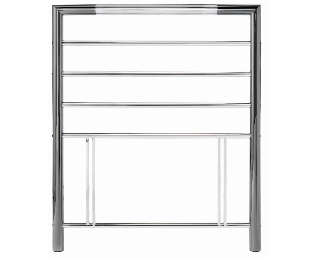 justheadboards.co.uk Urban 3ft Nickel Metal Headboard *Special Offer* single size - 3ft