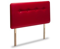 Mezz Faux Leather and Suede Headboard