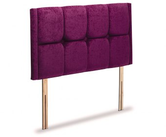 Times Faux Leather and Suede Headboard